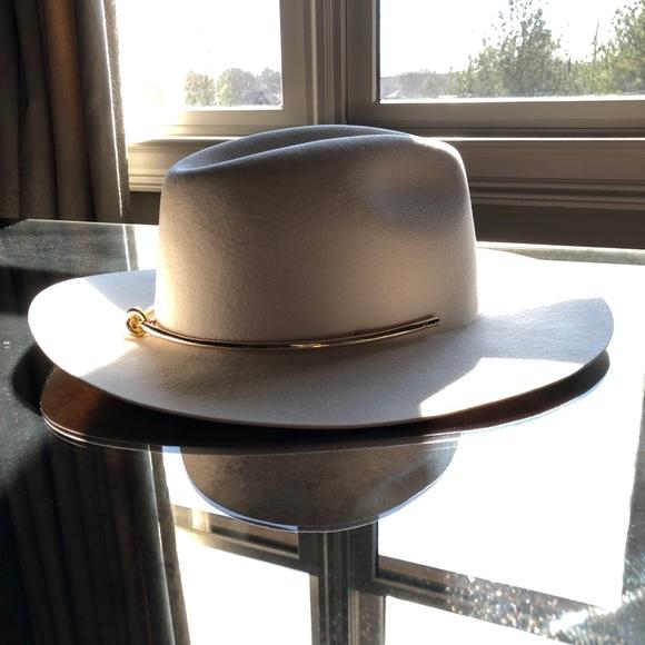 Kin K Accessories - Kin K Women s Off White Wide Brim Hat by 717c50decf3d